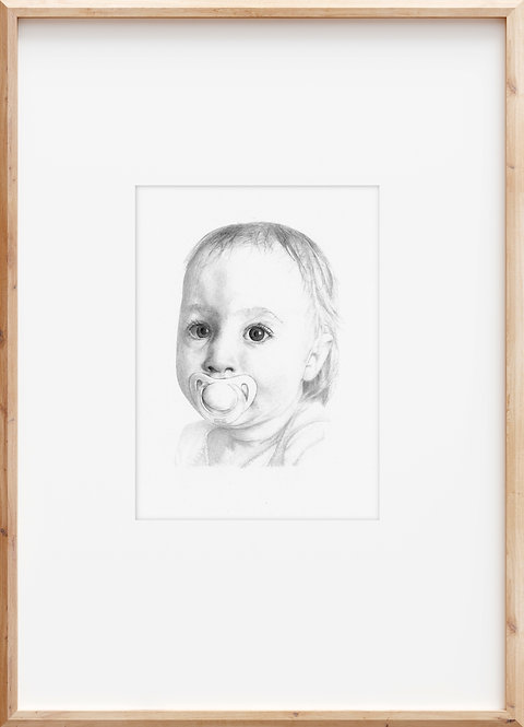 Small portrait (A5 size)