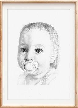 Large portrait (A3 size)