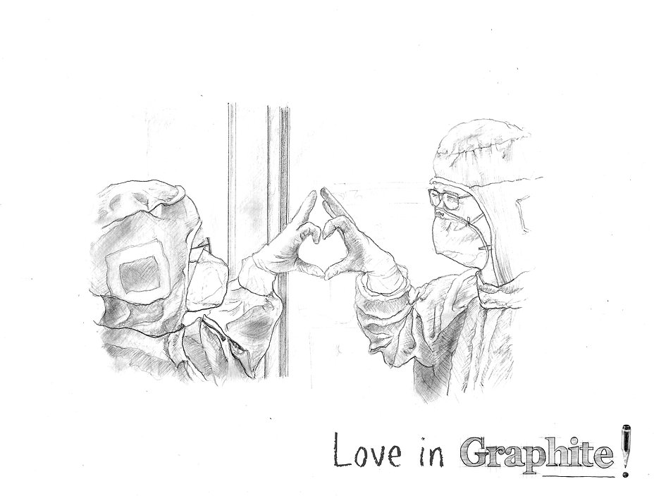 Love in Graphite (cropped & watermarked)