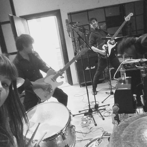 Underjoy in the studio