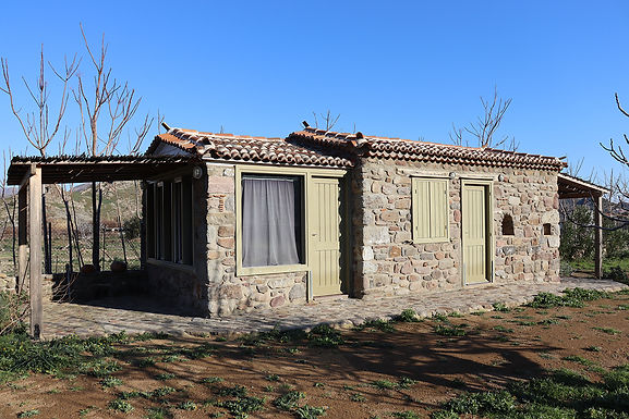 Built-in house 300m from the beach of Skala Eressos