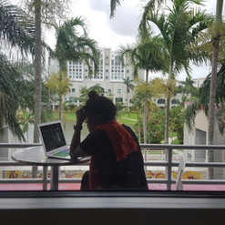 Can't beat the view we have while we analyze.