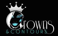 Crowns & Contours Logo Black - Britney C