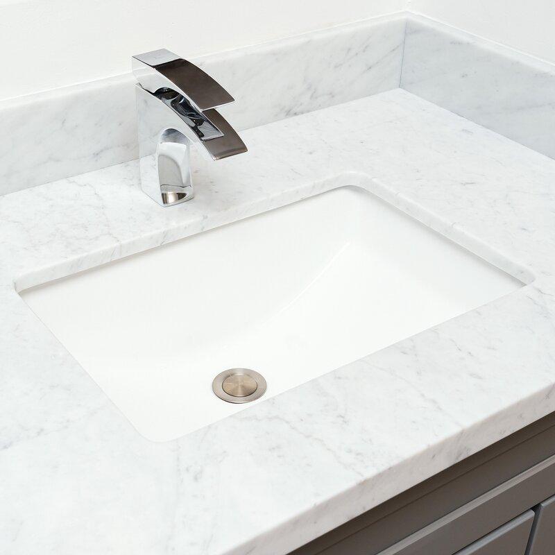 Rectangular+Undermount+Bathroom+Sink+wit