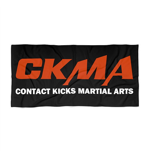 CKMA Beach Towel -Black