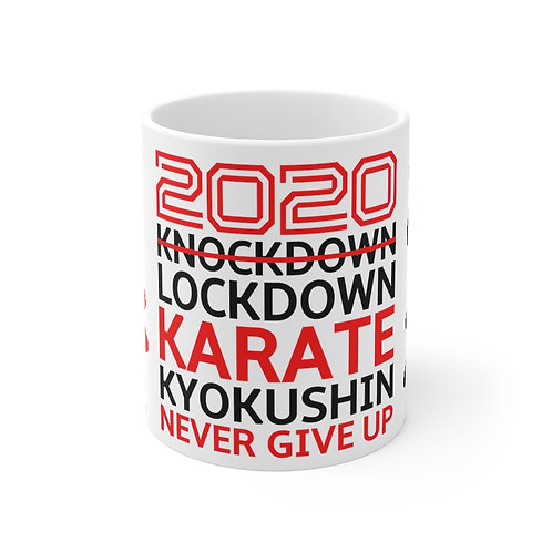 2020 Lockdown Karate - Mug 11oz