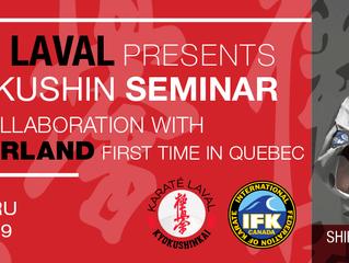 4th Kyokushin Seminar 2019 - With Shihan Eddy Gabathuler