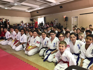 Results from the West Island Karate Championship