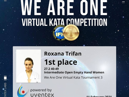 Virtual Kata Competition - We Are One 3
