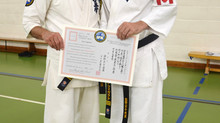 Sensei Steve promoted to 4th Dan