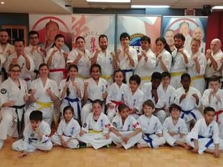Shihan Mike Monaco at Karate Laval