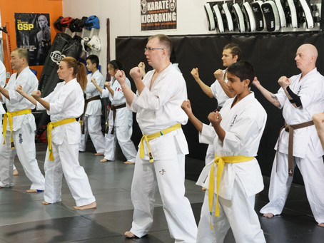 Karate Testing for Belts and Ranks