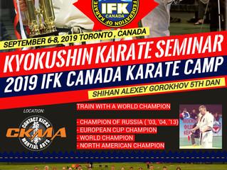 2019 IFK Canada Kyokushin Karate Seminar
