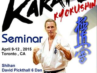 Kyokushin Seminar in Toronto
