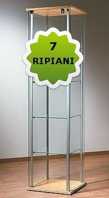 ONE Regolabile 7 Ripiani (42,7xPr36,7xH163,2)