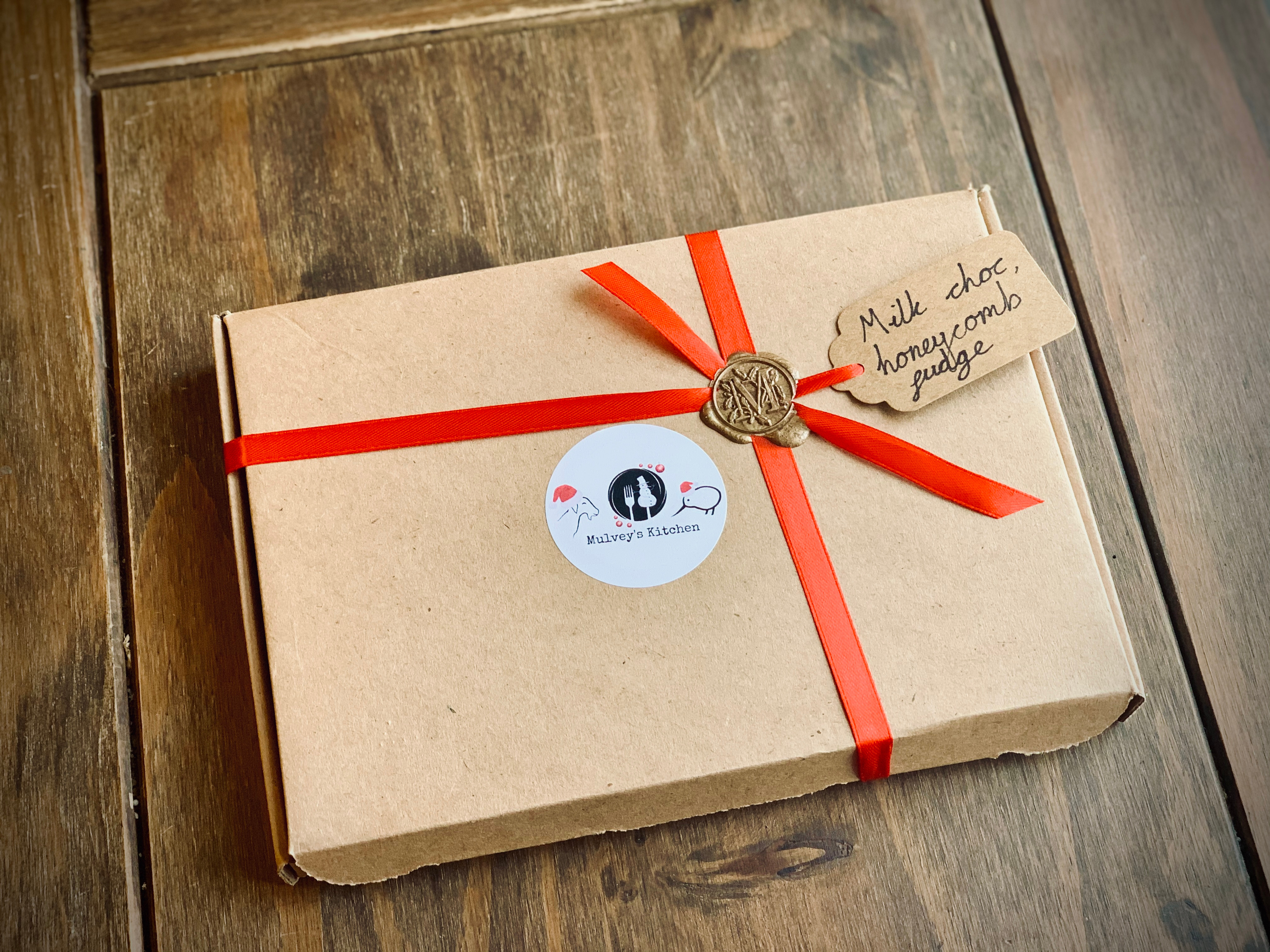 The monogrammed box