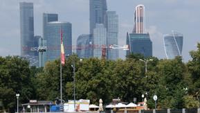 OKO er et kompleks af tårnhøje skyskrabere med kontorer, lejligheder, hoteller, udstillingslokaler o