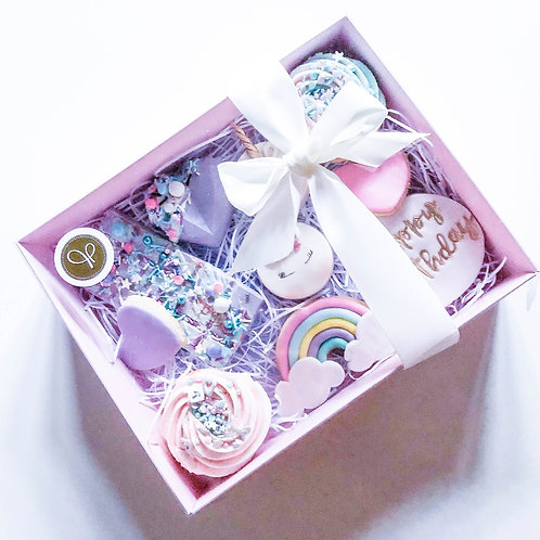 Unicorn Birthday Treat Box