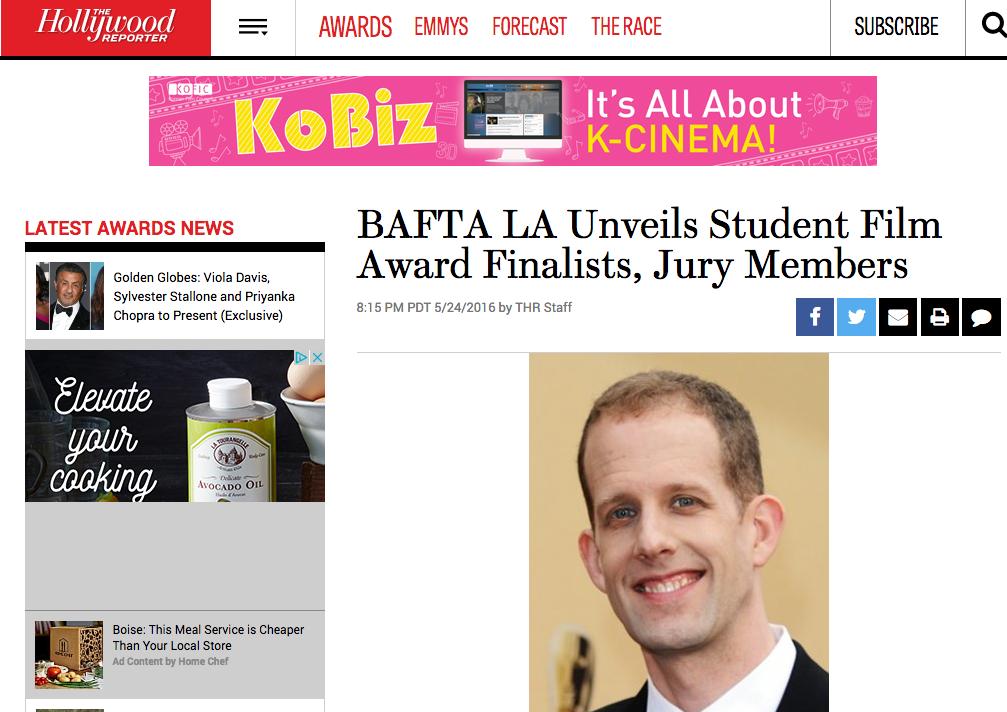 BAFTA Unveils Student Awards