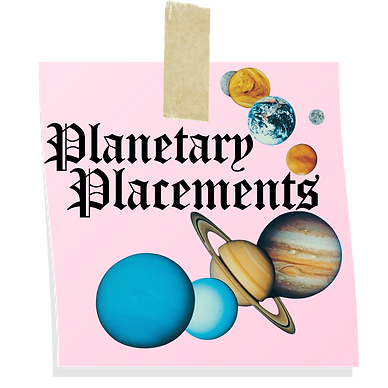 planetary placement chart