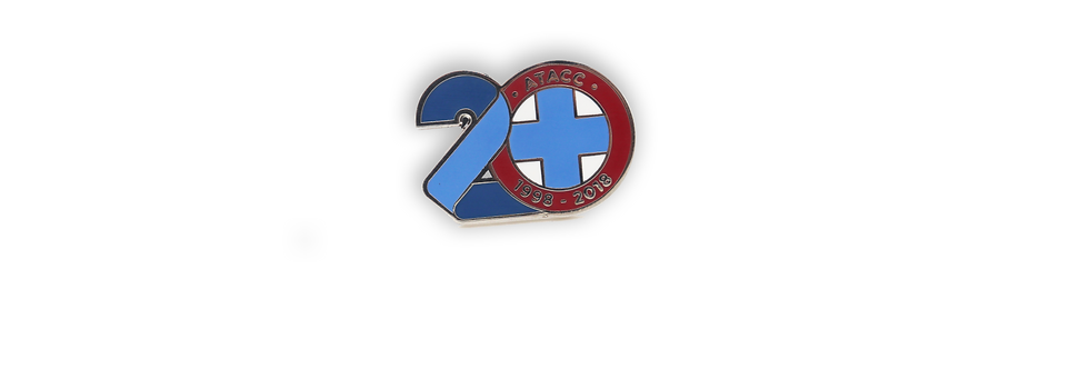 ATACC 20 Year Anniversary Edition Pin Badge