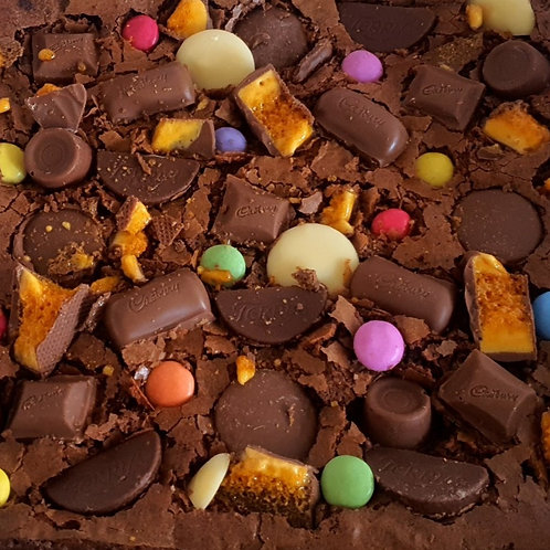 'Can't decide, I'll have everything' Brownie