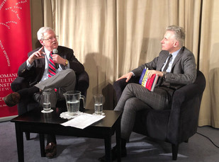 """Romania: Close and Personal"" with Ambassador James Rosapepe"