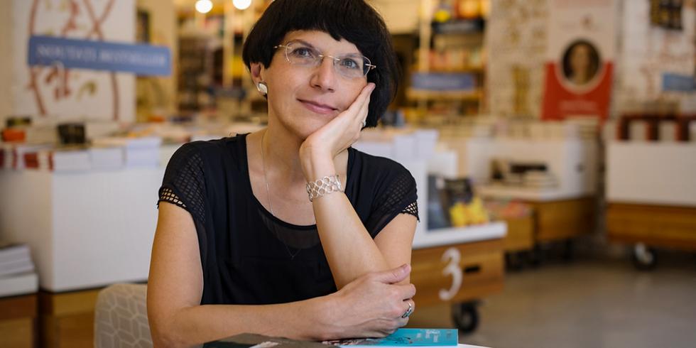 Award-winning Author Ioana Pârvulescu in New York City