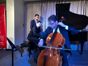 "Mihai Marica and Ilya Poletaev in the ""Enescu Soirees"" Series"