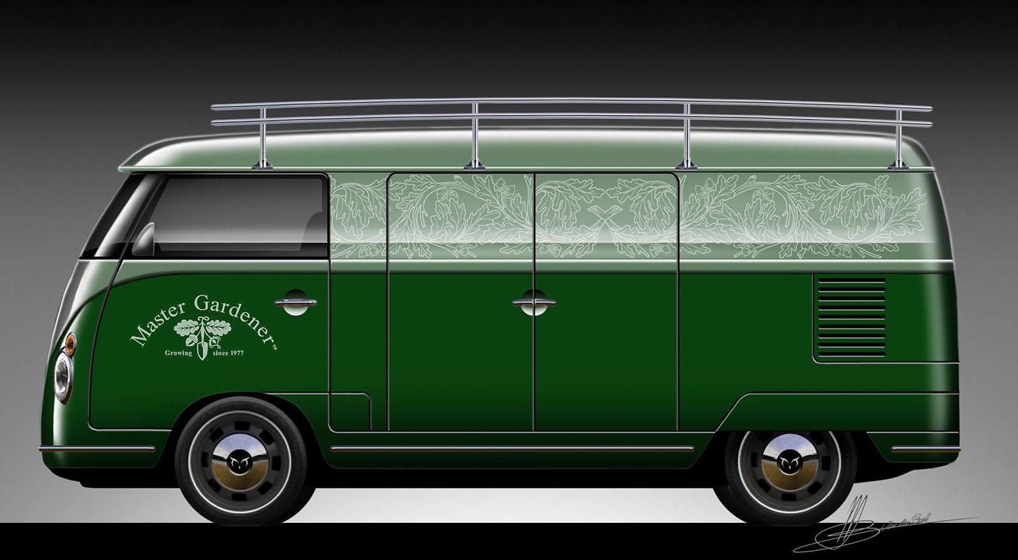 Retro Splitwindow Bus Barndoor