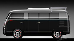 Retro Splitwindow Bus Camper