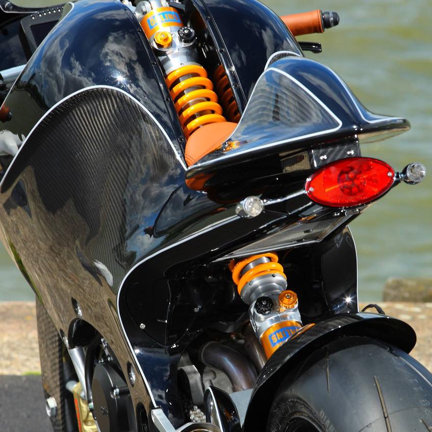 VanderHeide motorcycle suspension