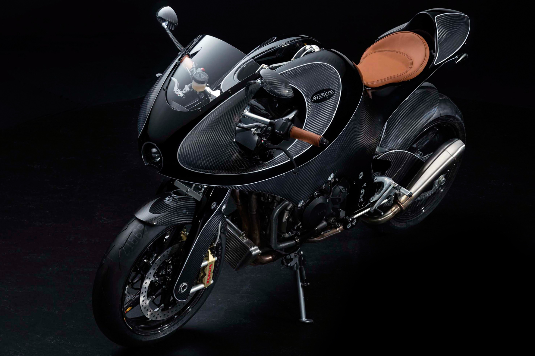 VanderHeide carbon fiber motorcycle
