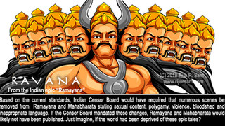 "Would ""Ramayana"" and ""Mahabharata"" have passed the current standards of the Indi"