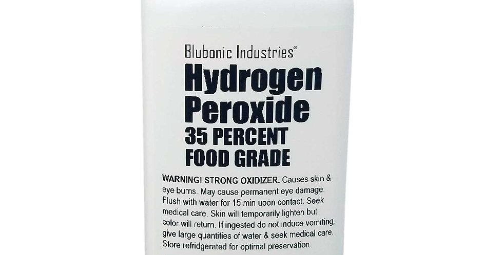 35% Food-grade Hydrogen Peroxide, Stabilizer-free, Pure Oxygen & Water H2O2