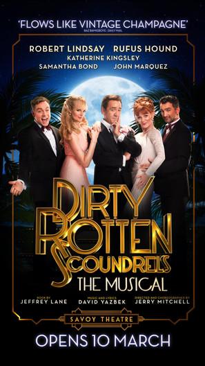 Dirty Rotten Scoundrels (UK) Motion Poster