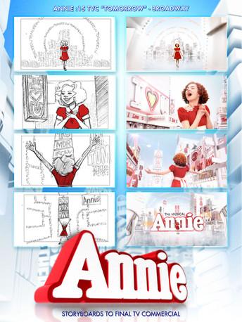 Annie Storyboards/TV Spot