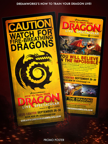 How To Train Your Dragon Promo Poster