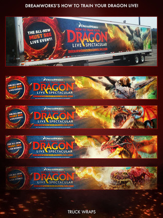 How To Train Your Dragon Truck Wraps