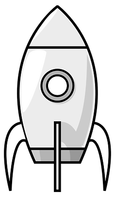 49-490520_k-and-white-rocket-clip.png