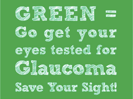 World Glaucoma Week - 10th March to 16th March 2019