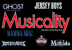 Musicality - Airbrush logo
