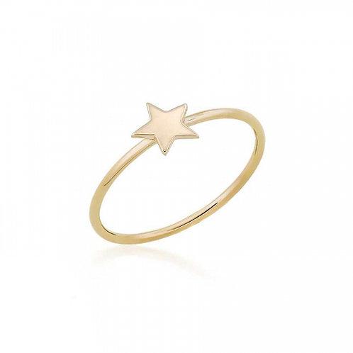 14 Ayar Altın Yıldız Figürlü Yüzük