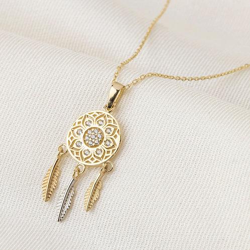 Altın Kolye - Maya