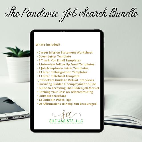 Digital Pandemic Job Search Bundle