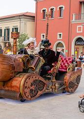 Street theatre and the original Time Machine