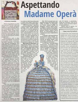 Cantante lirica Madame Operà