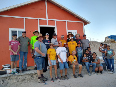 Mexico House Build In Mexico - October 16th