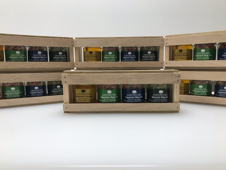 Custom Wood Crate Gift Box Set's