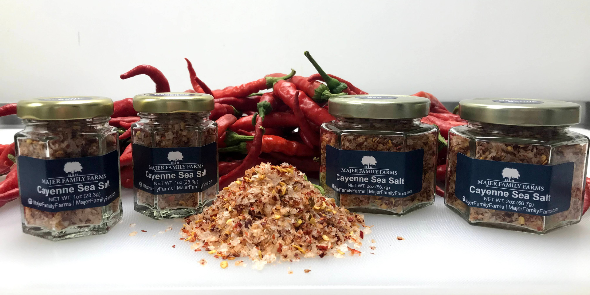 Cayenne Infused Sea Salt
